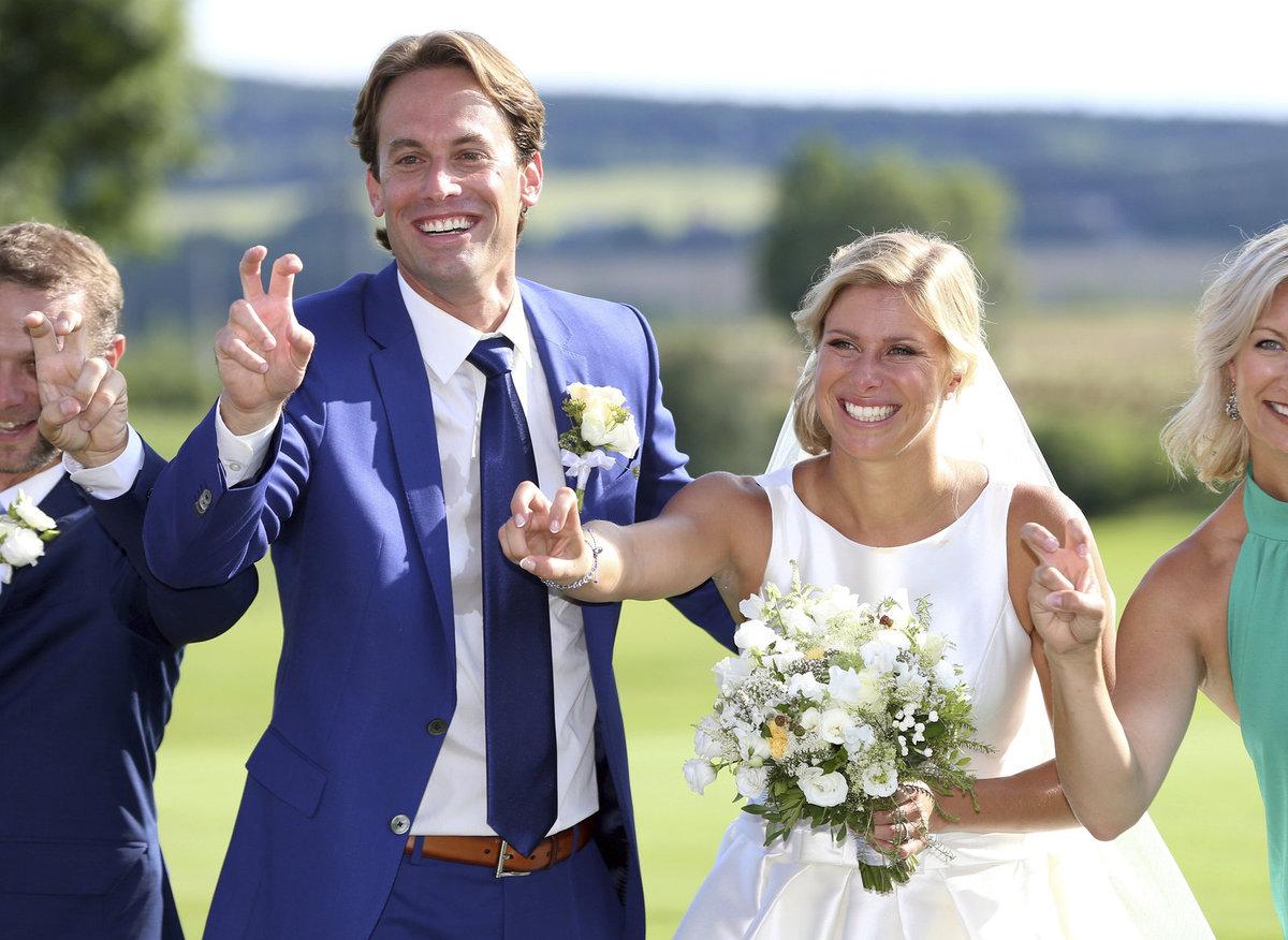 Tenisová kráska Andrea Hlaváčková se provdala za svého Itala