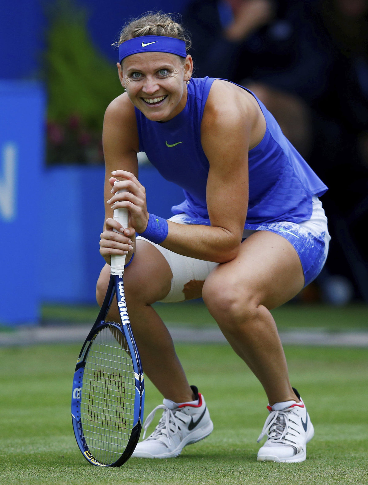 Lucie Šafářová po úžasné výměně proti Darje Gavrilovové na turnaji v Birminghamu