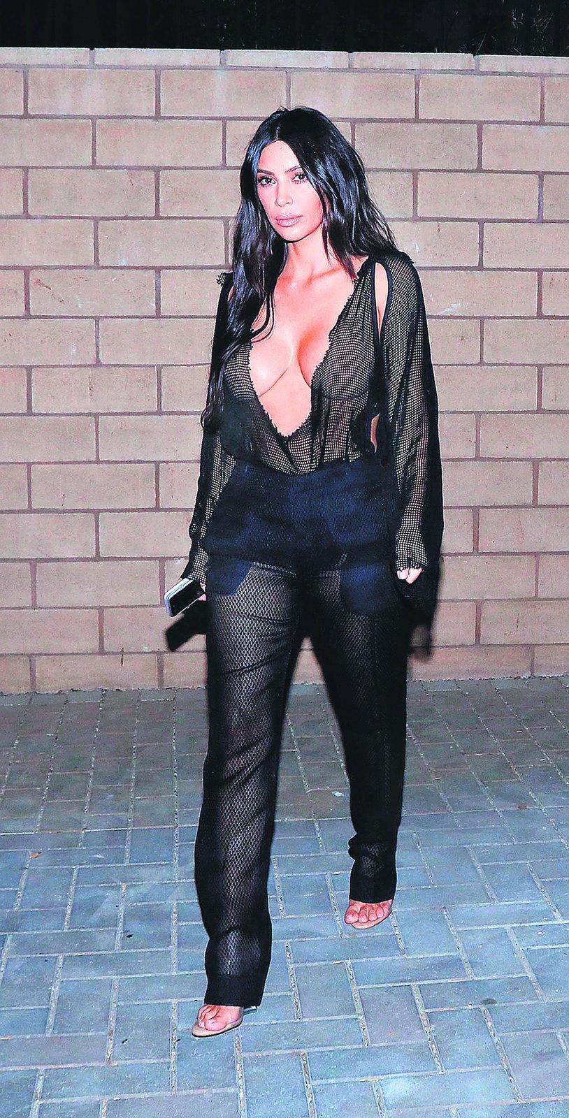 Kim Kardashian v extra dráždivém modelu