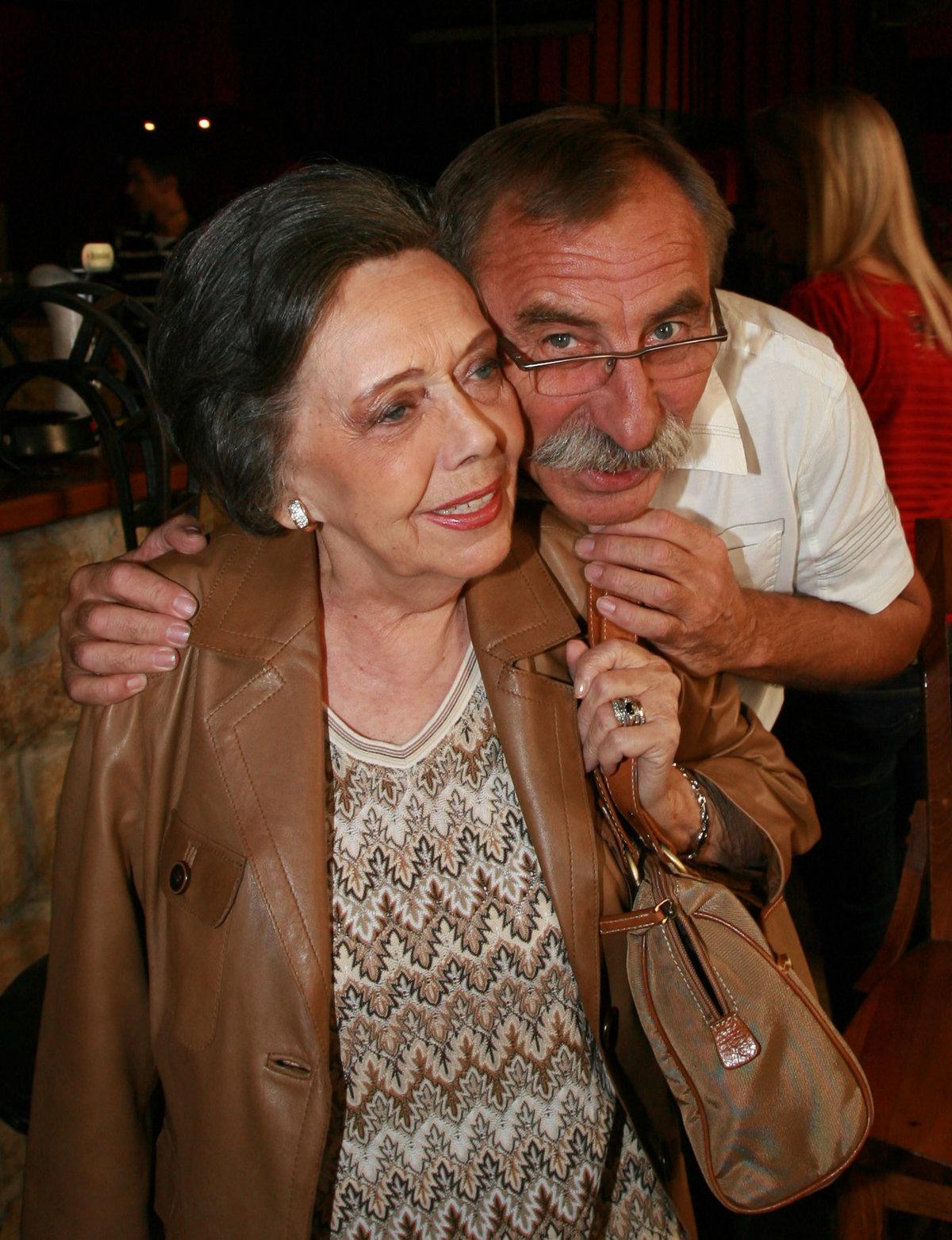 Pavel Zedníček  a Jiřina Jirásková