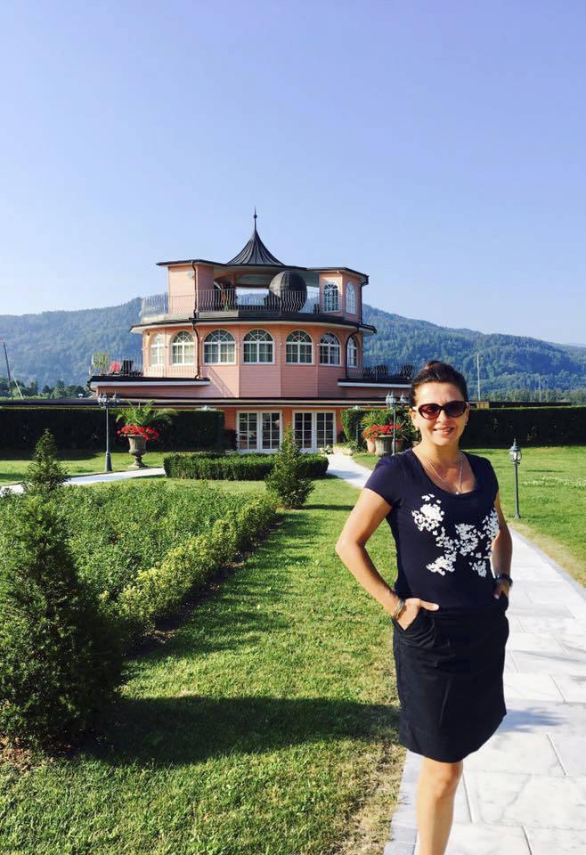 Dana Morávková na dovolené