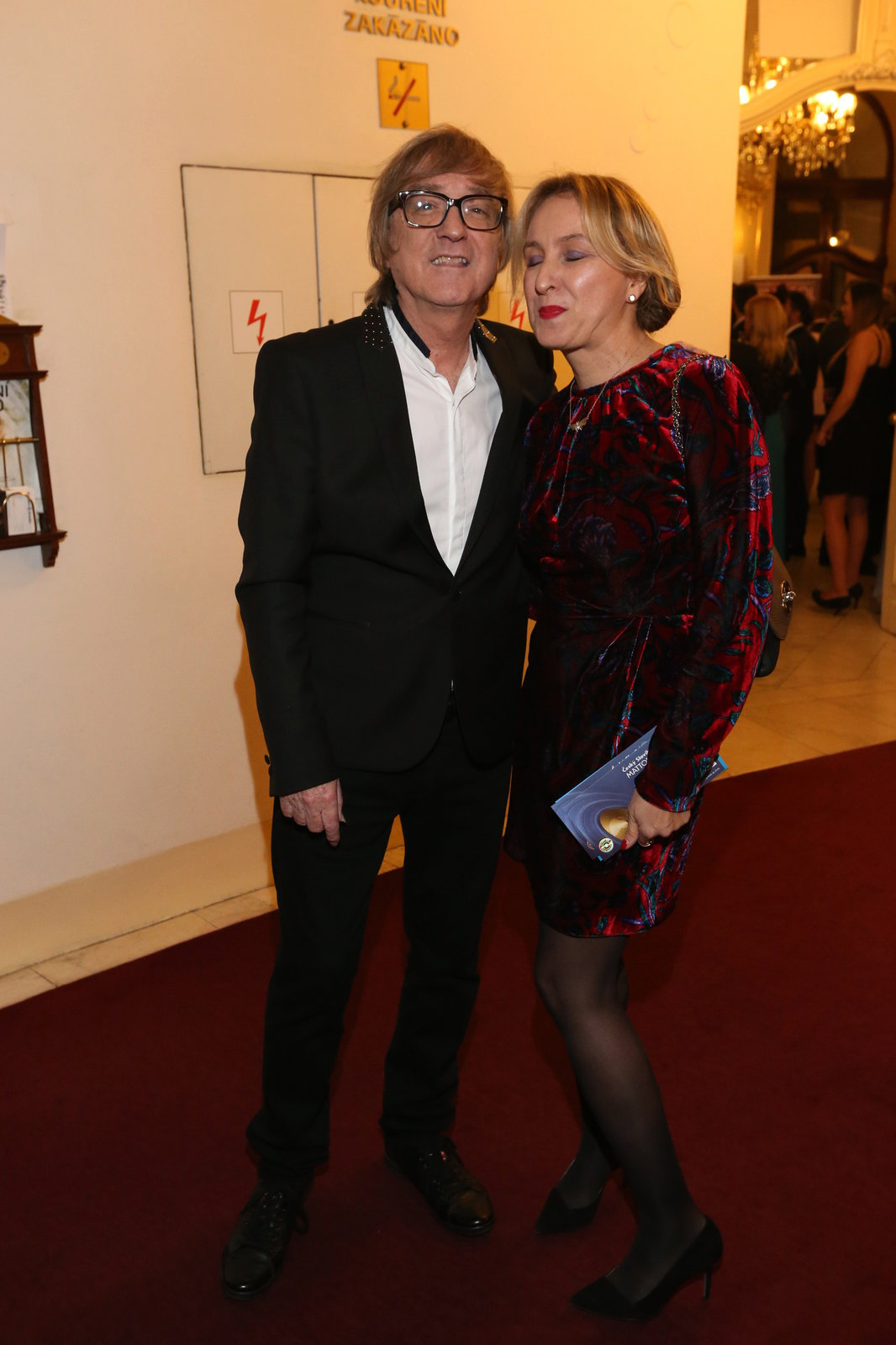 Miro Žbirka s manželkou Kateřinou, která je také jeho manažerkou.