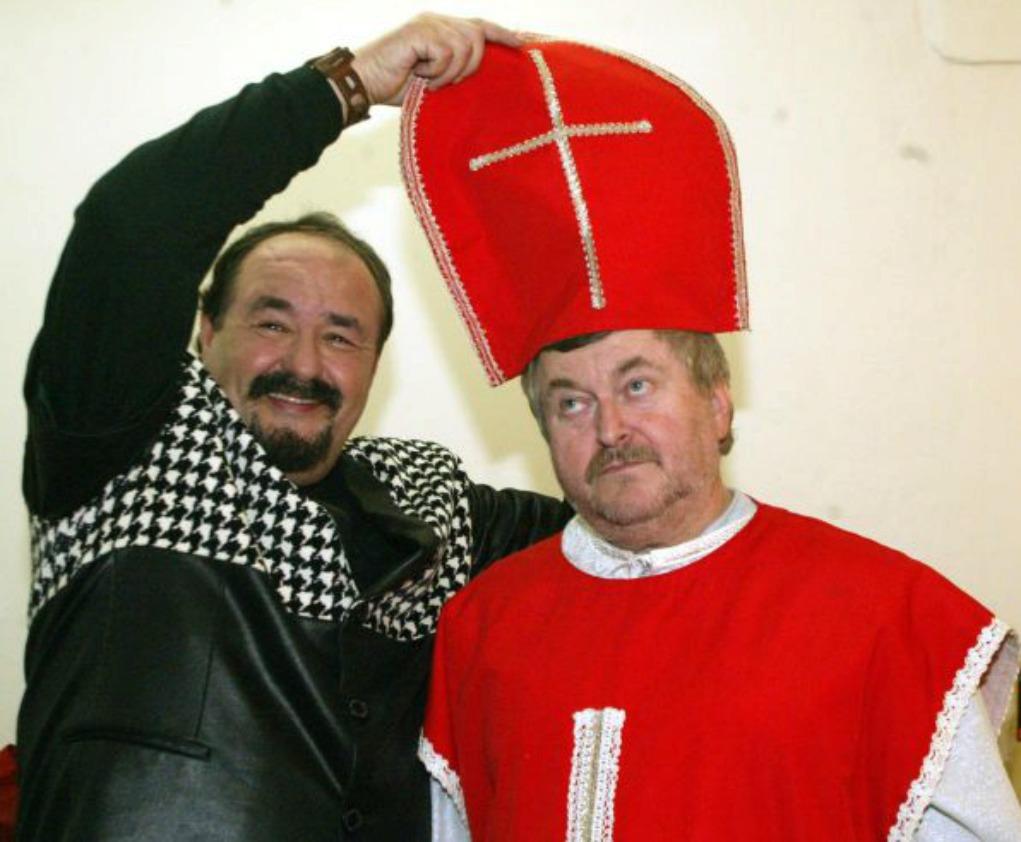 Petr Novotný s Ringo Čechem.