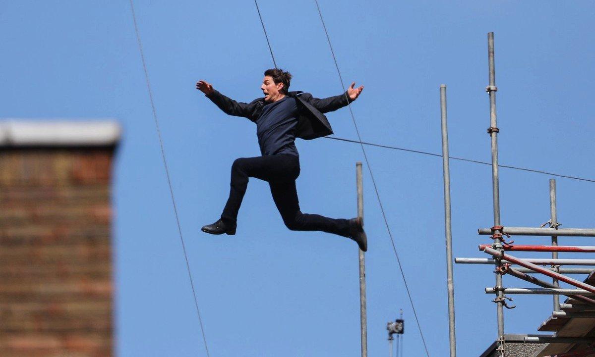 Tom Cruise se zranila během natáčení Mission Impossible 6.
