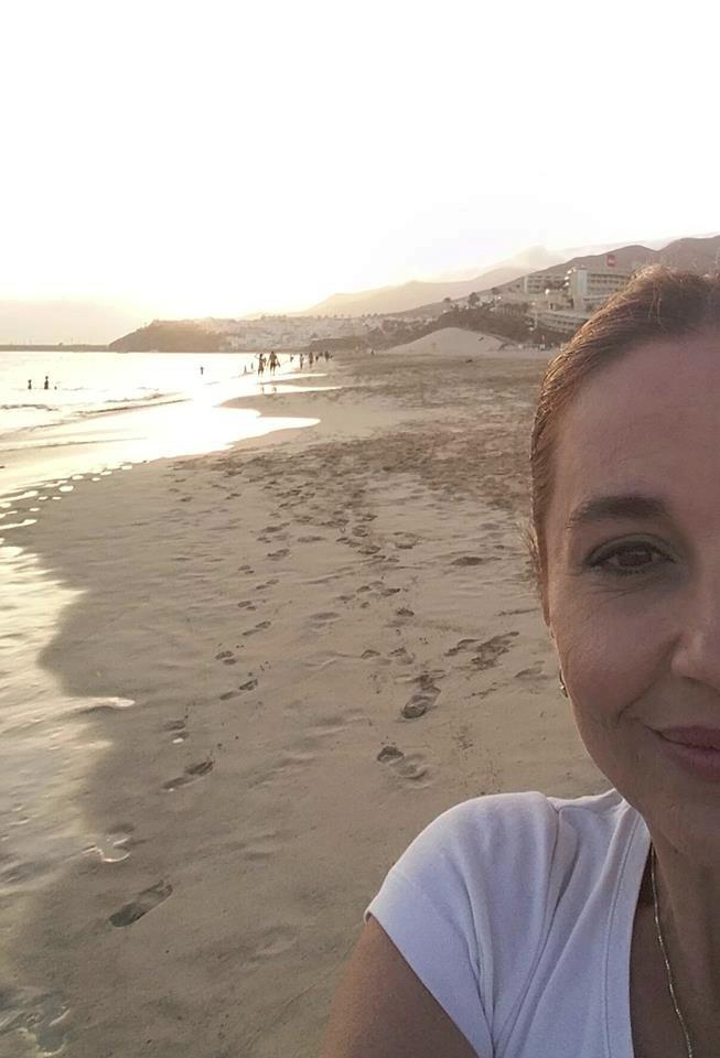 Michaela Kuklová na dovolené
