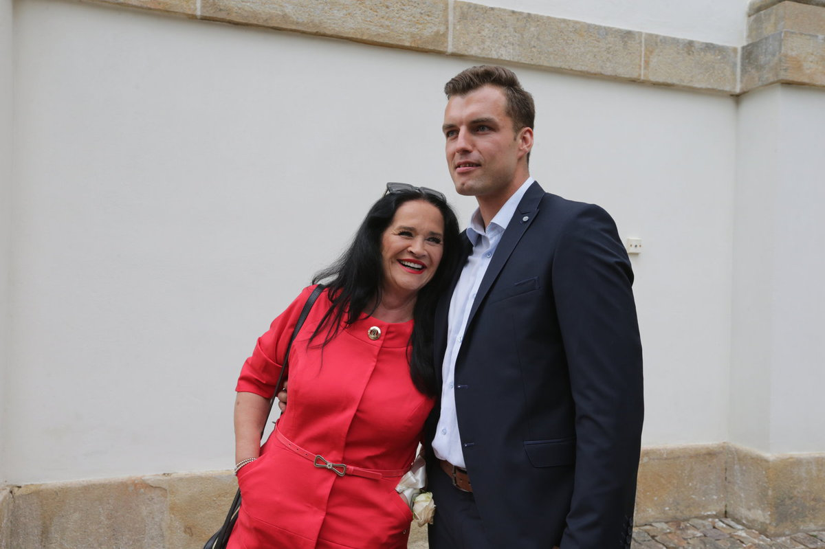 Hana Gregorová a Ondřej Koptík tvořilli dokonalý pár.