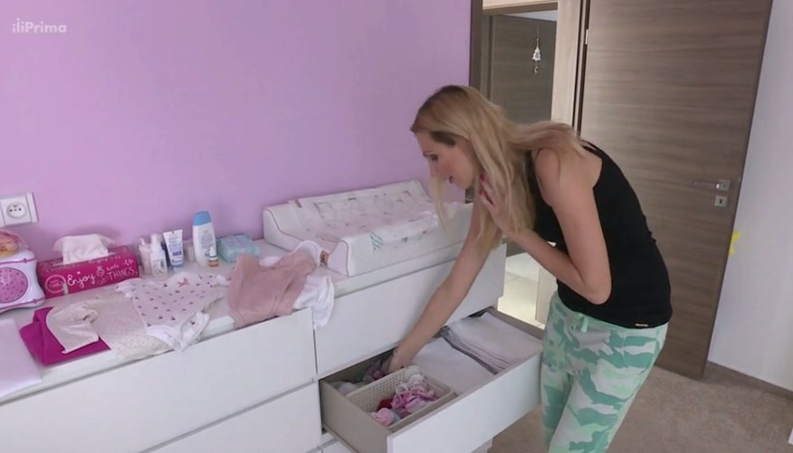 Sandra Parmová se pochlubila dcerou Emily.