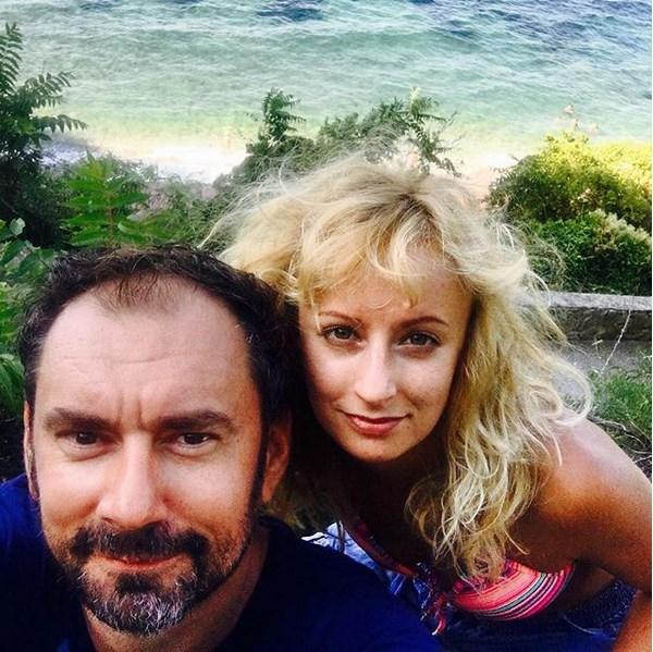 Lucie Hunčárová s Emanuelem Ridi na dovolené v Itálii.