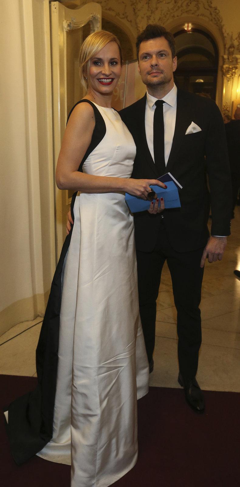 Monika s partnerem Tomášem.