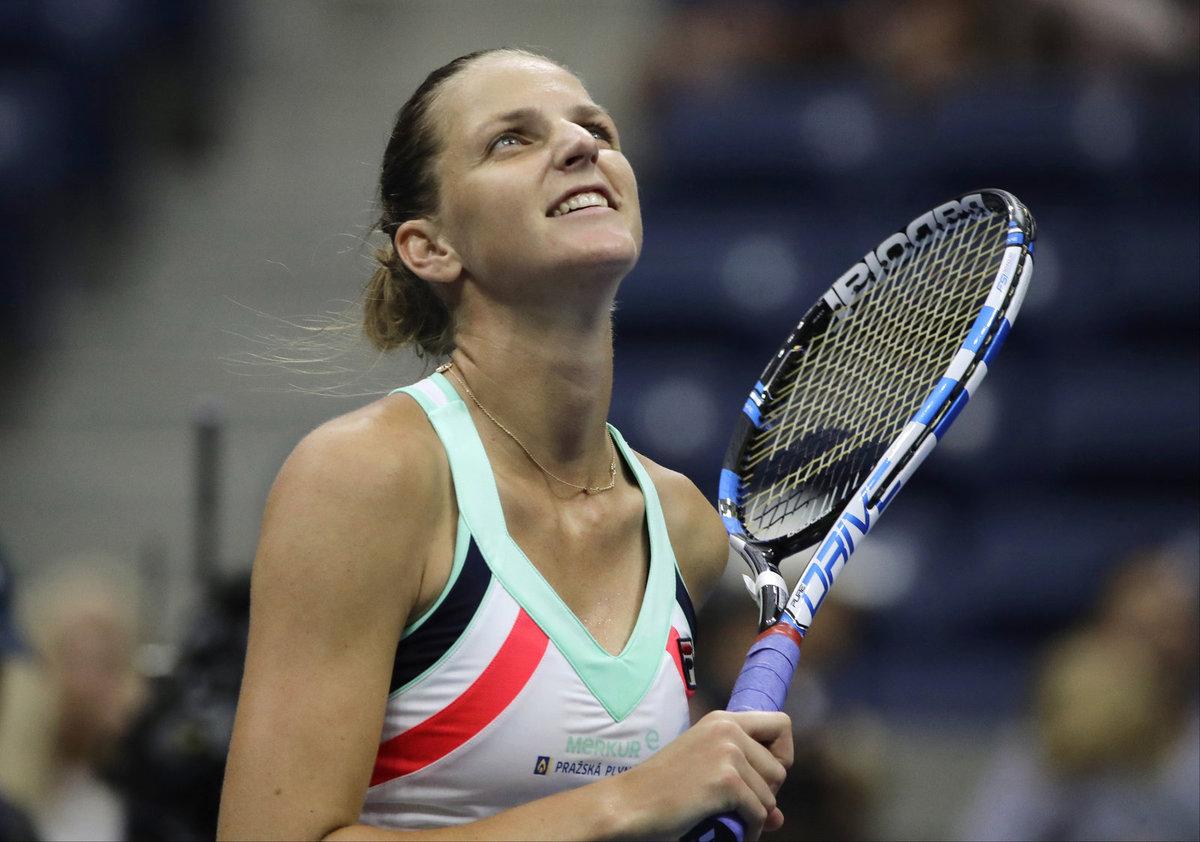 Karolína Plíšková v prvním kole US Open