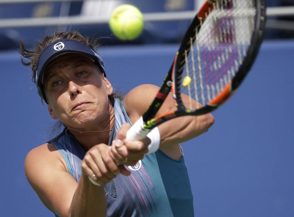 Česká tenistka Barbora Strýcová nestačila ve druhém kole US Open na Jennifer Bradyovou