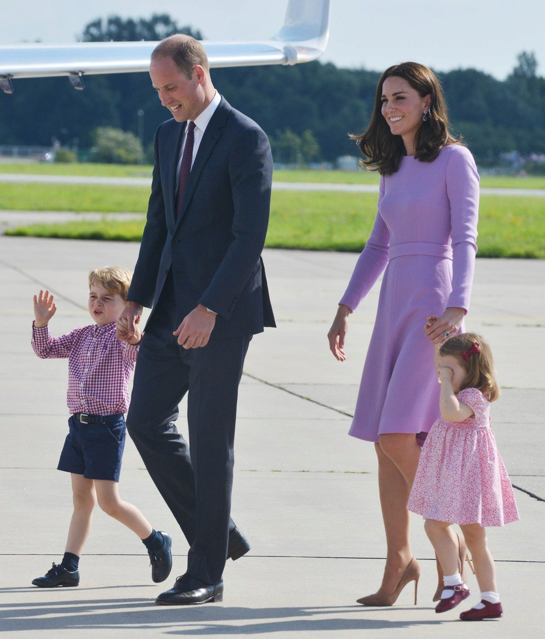 Kate a Charlotte, William a George