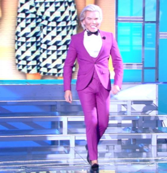 Rodrigo Alves hostem italského pořadu