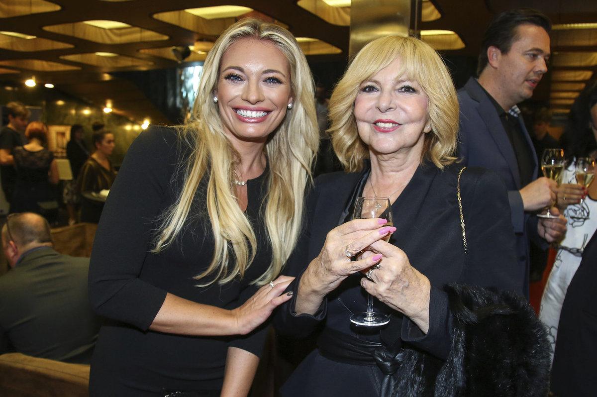 Lucie Borhyová a Hana Zagorová