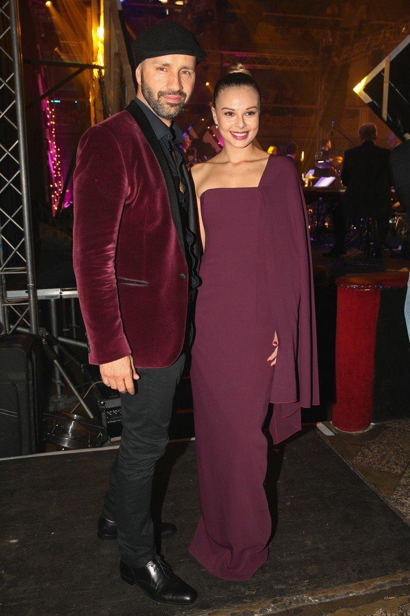 Monika Bagárová s Robem Opatovským