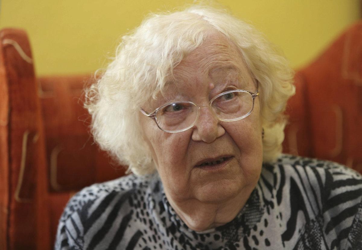 Paní Růžena zemřela 2. října na celkové selhání organismu.