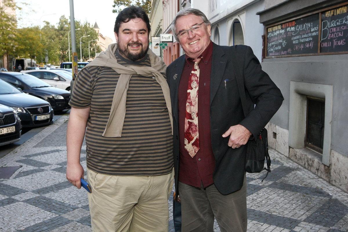 Tomáš Magnusek a Vlastimil Harapes