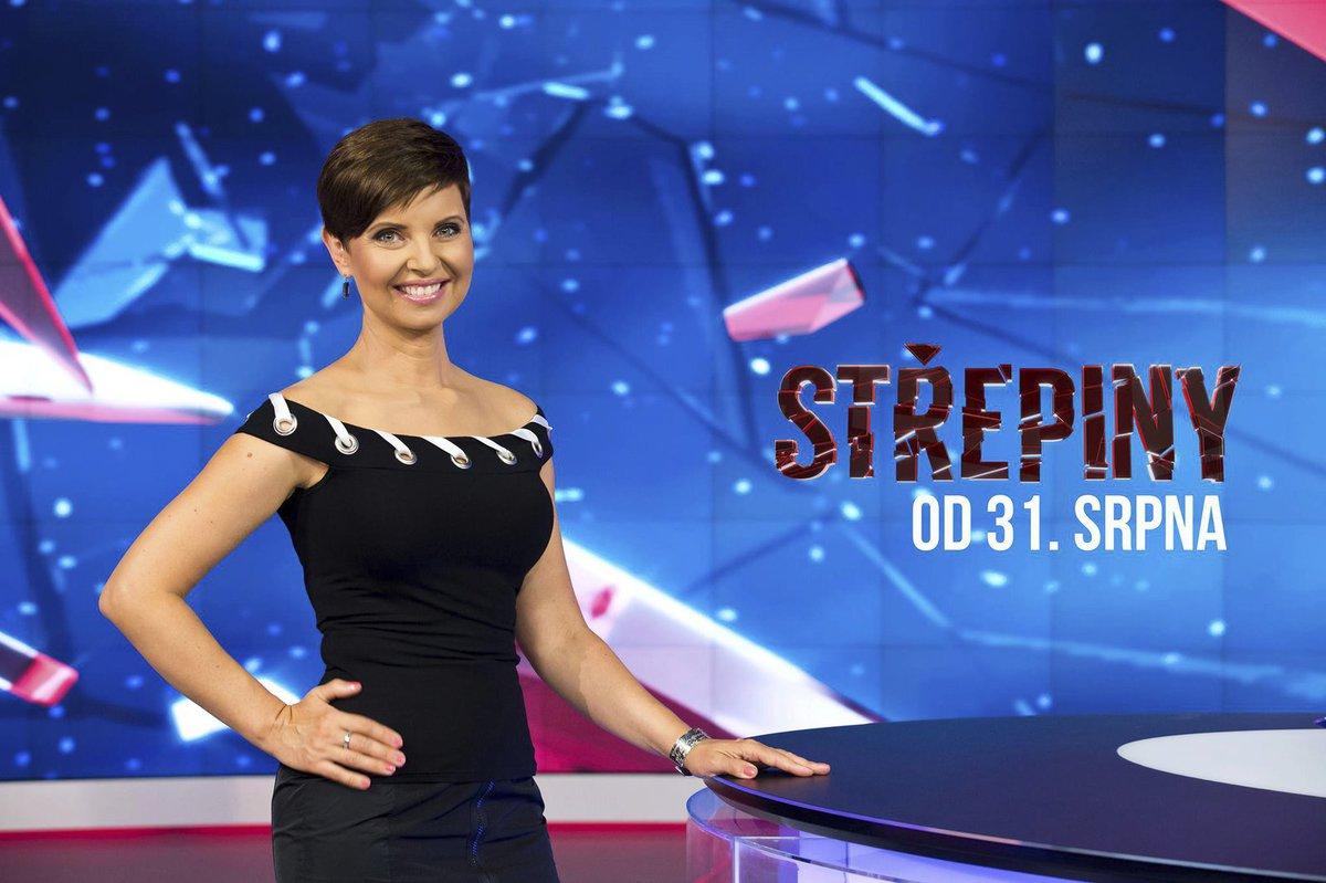 Moderátorka Střepin Markéta Fialová