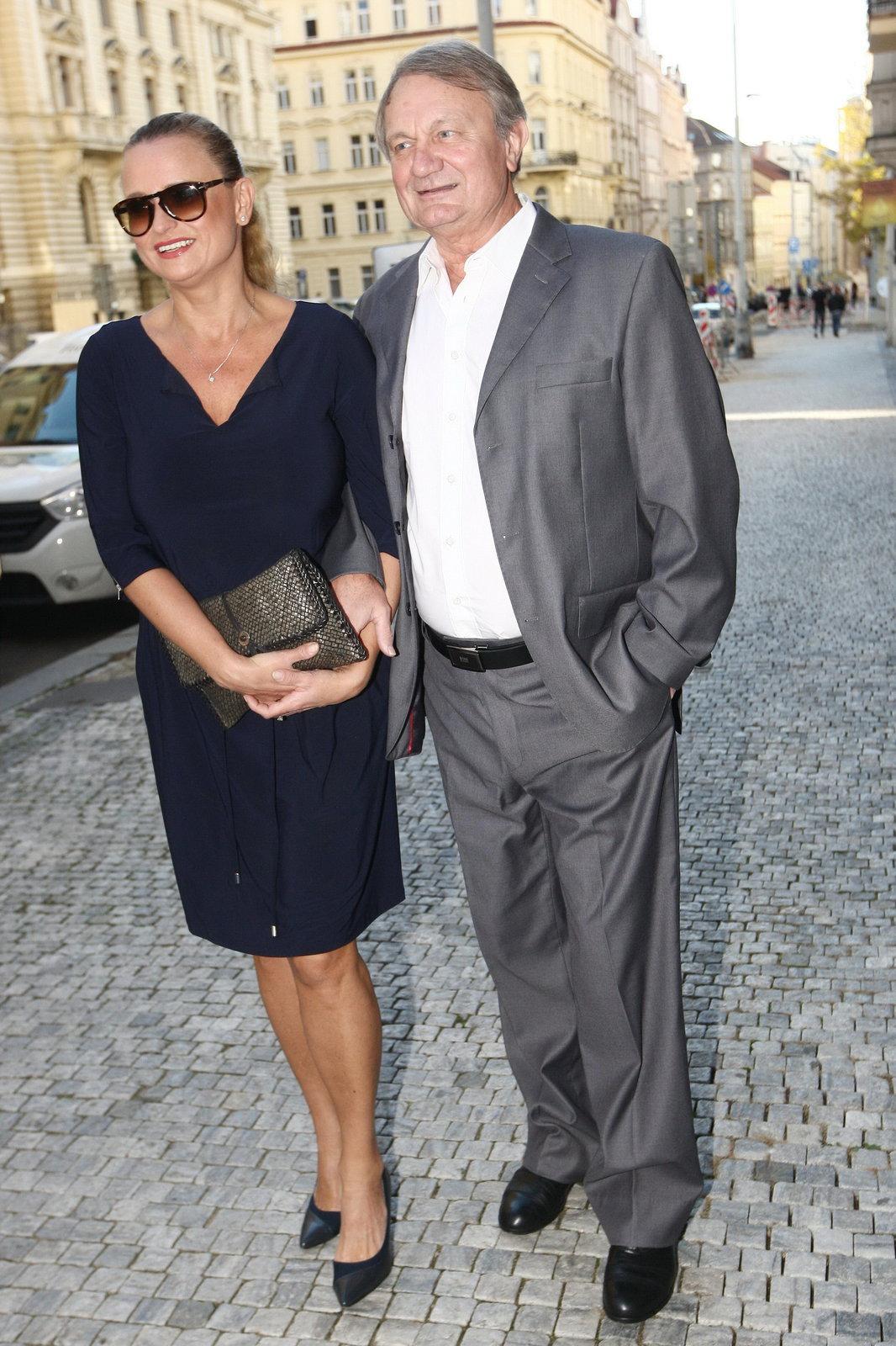 Manželé Jana a Jiří Adamcovi