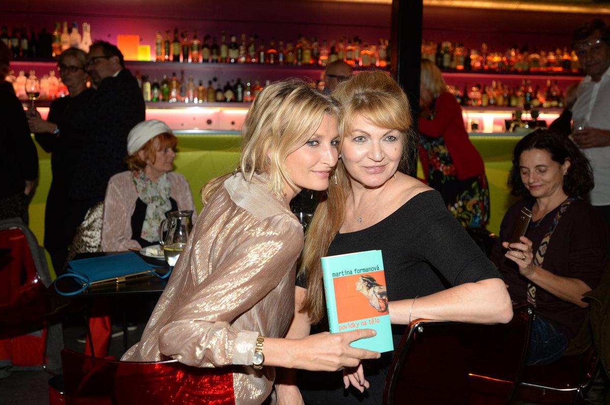 Martina Formanová s Terezou Maxovou