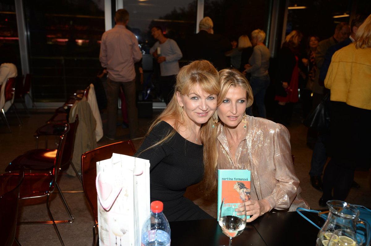 Martina Formanová se s Terezou Maxovou znají léta a vídají se zejména v New Yorku.
