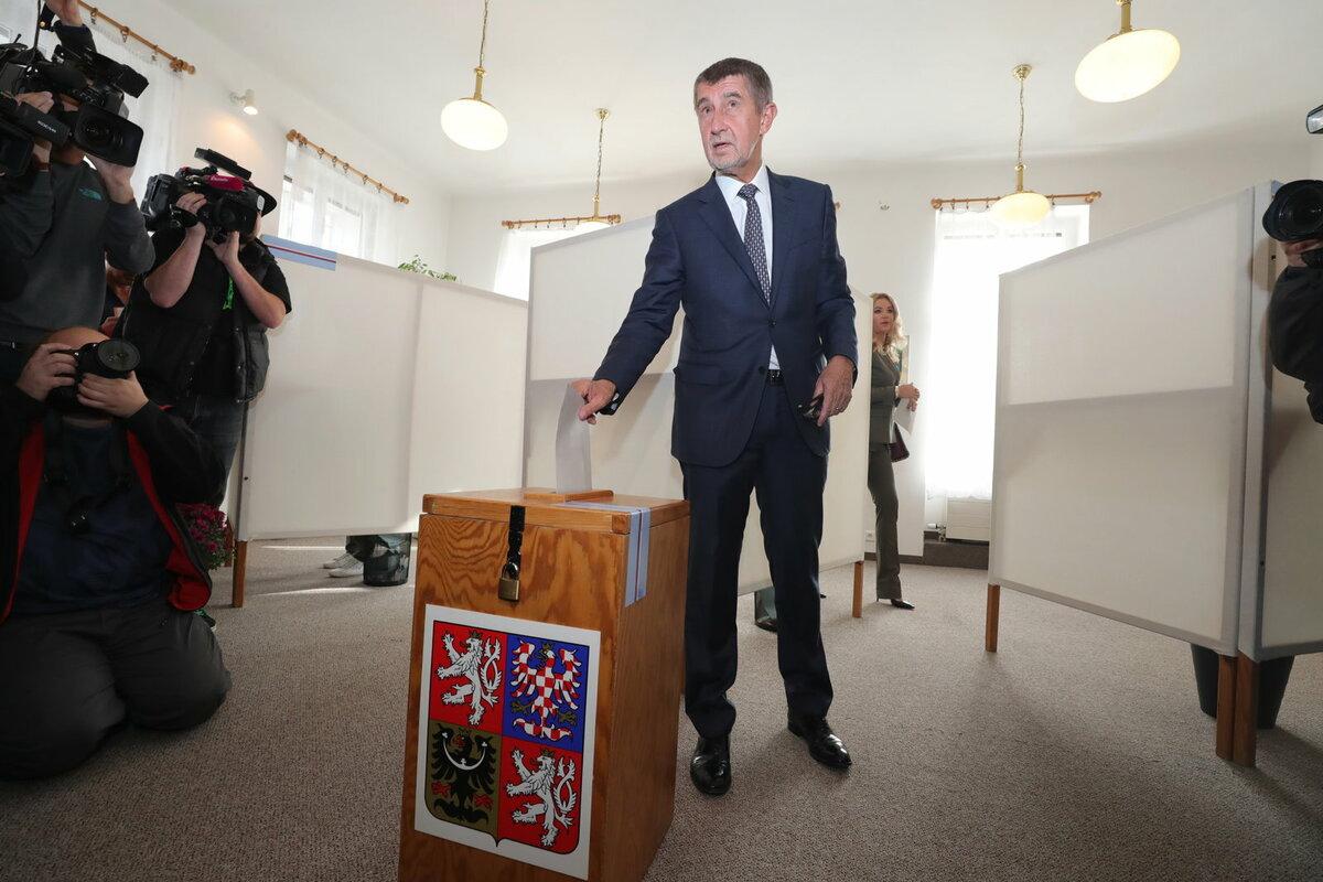 Andrej Babiš již odvolil.