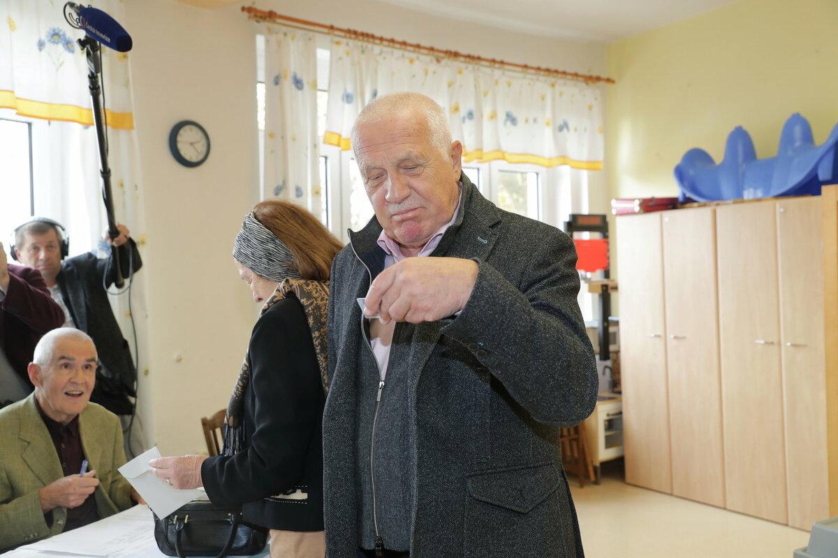 Václav Klaus již odvolil.