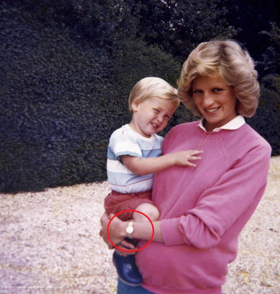Princezna Diana milovala hodinky od Cartier.