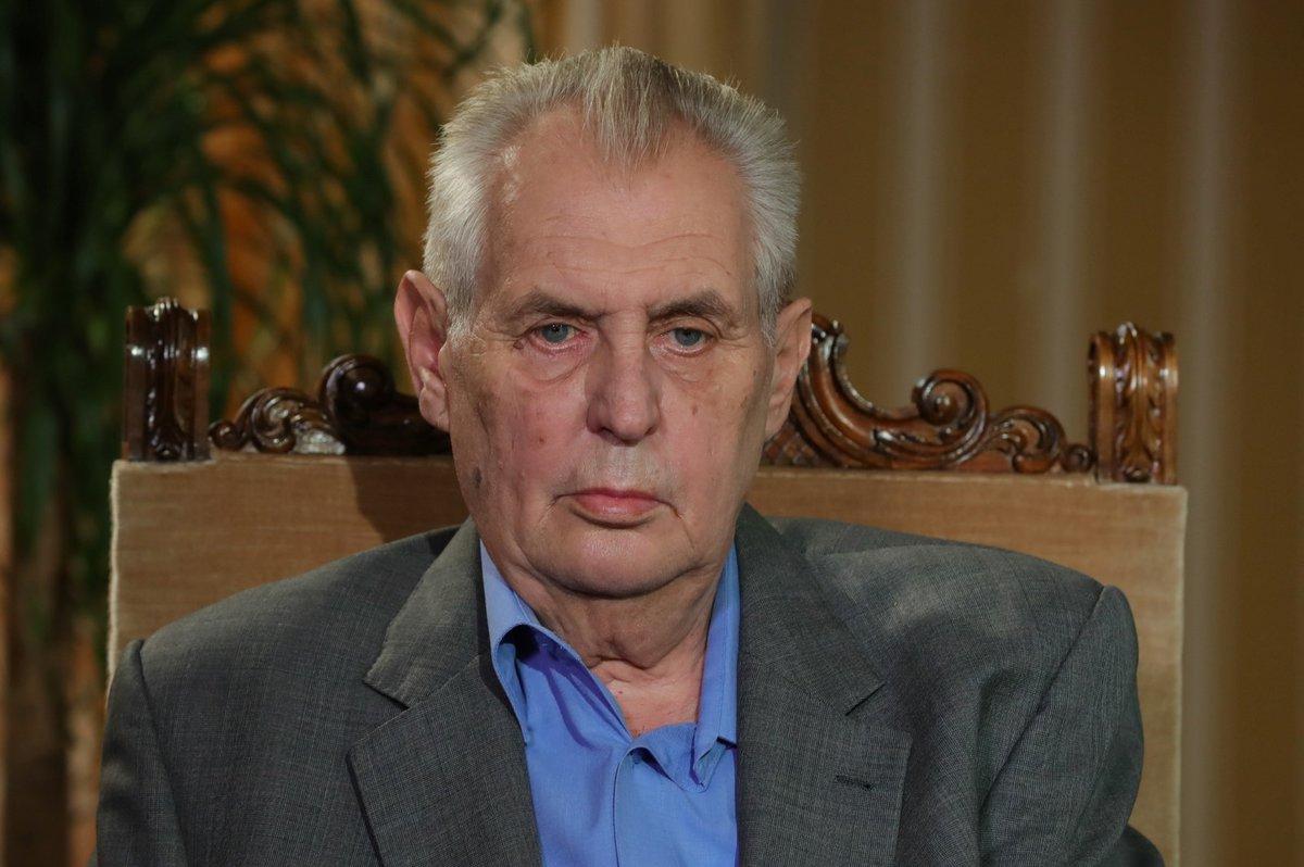 Prezident Miloš Zeman v pořadu S prezidentem v Lánech na Blesk.cz