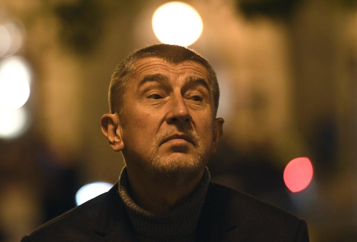 Schůzka ANO a ČSSD: Andrej Babiš po schůzce se sociálními demokraty