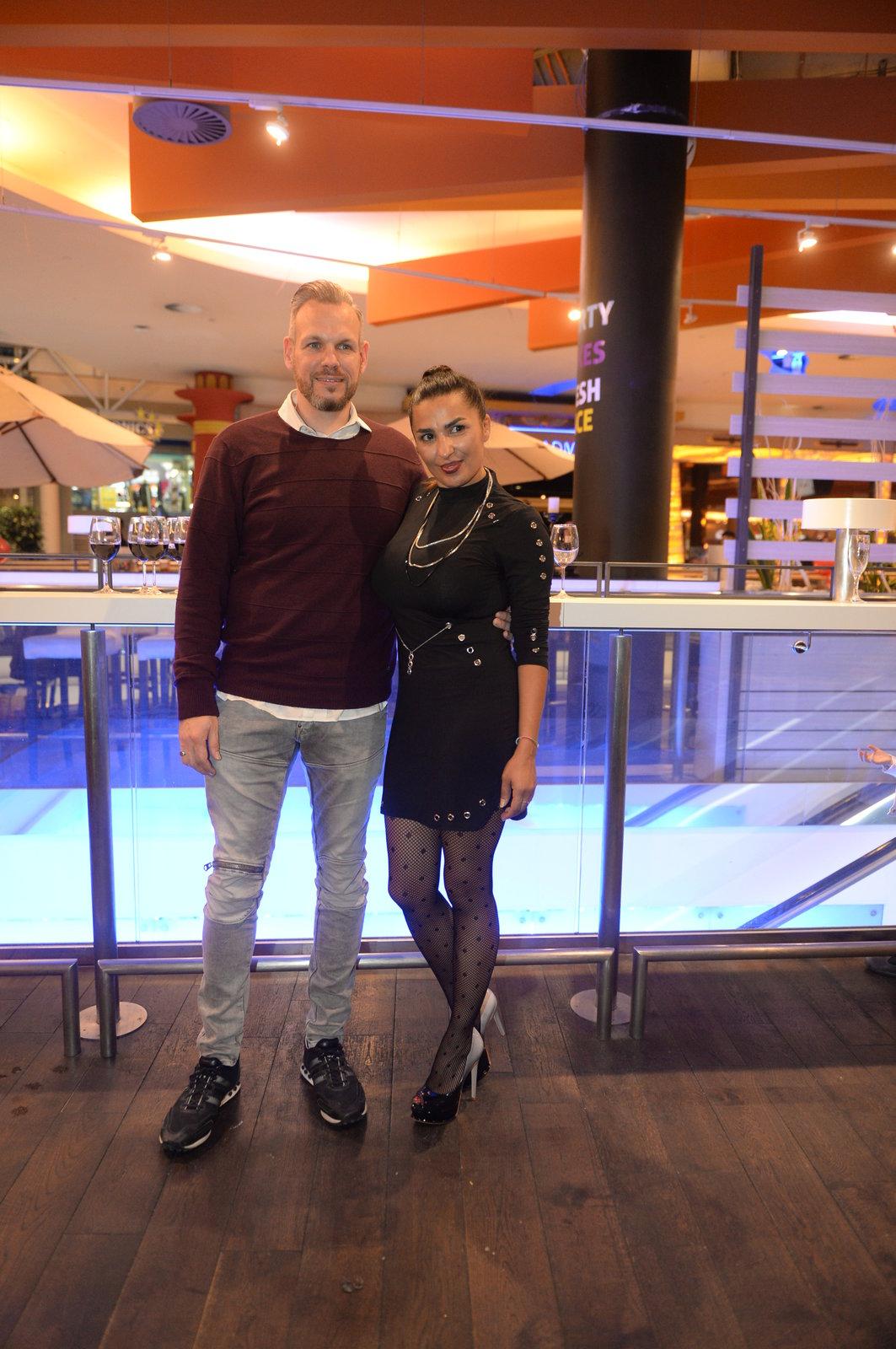 Anife Vyskočilová s přítelem