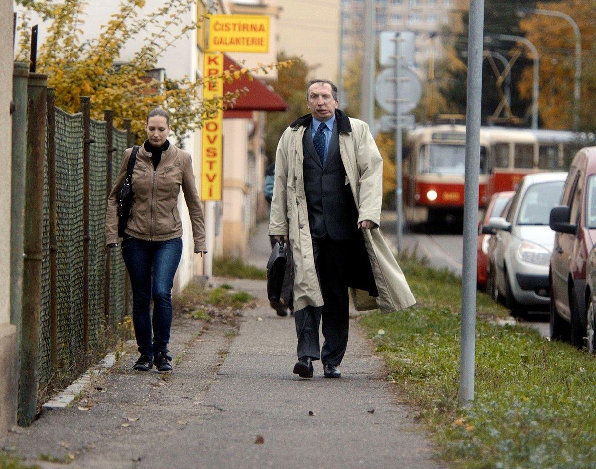 Václav a Lucie Klausovi.
