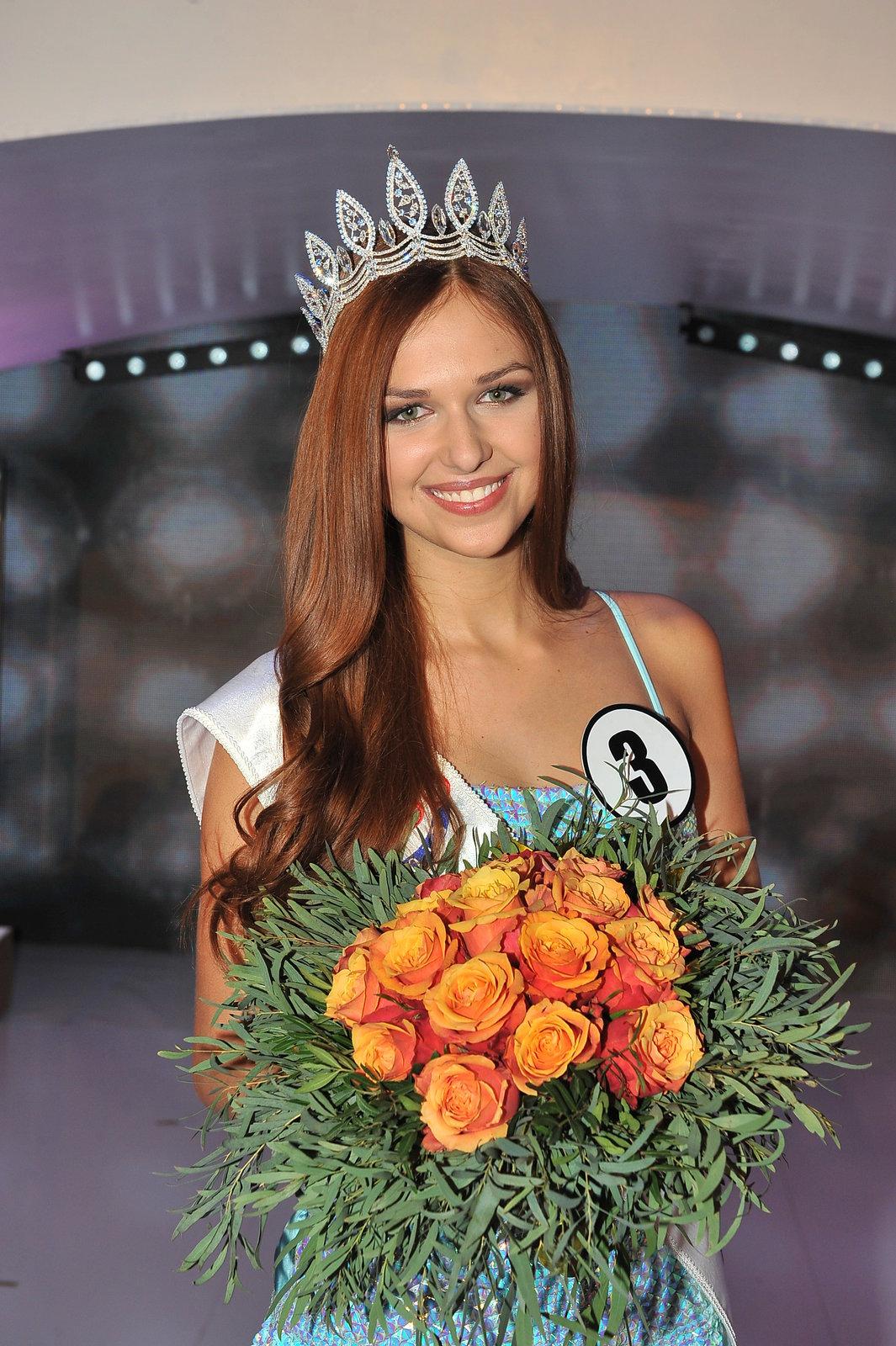Lucie Kovandová se právě stala novou Českou Miss.