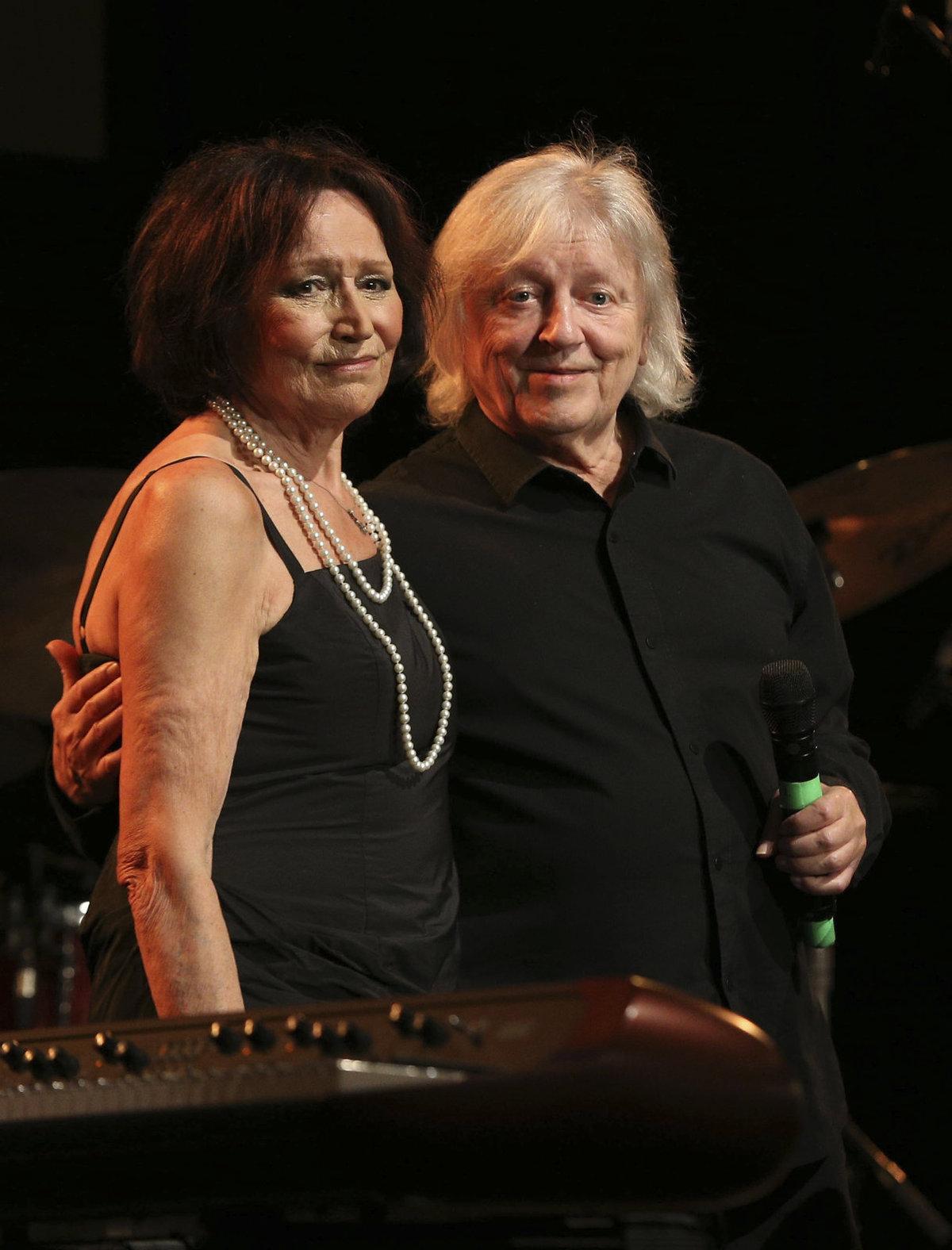 Václav Neckář vystoupil na koncertě Marty Kubišové.
