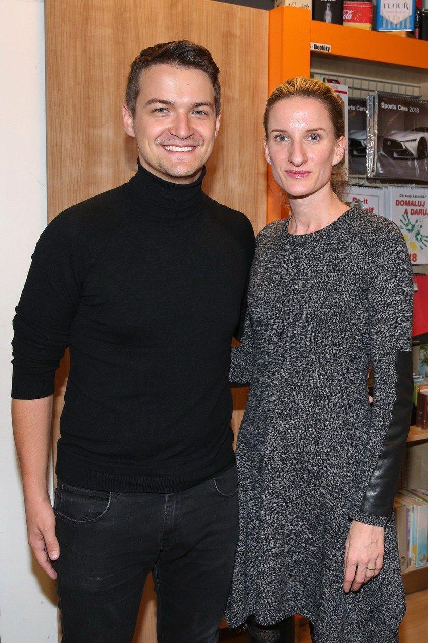 Adela Banášová s manželem Viktorem Vinczem