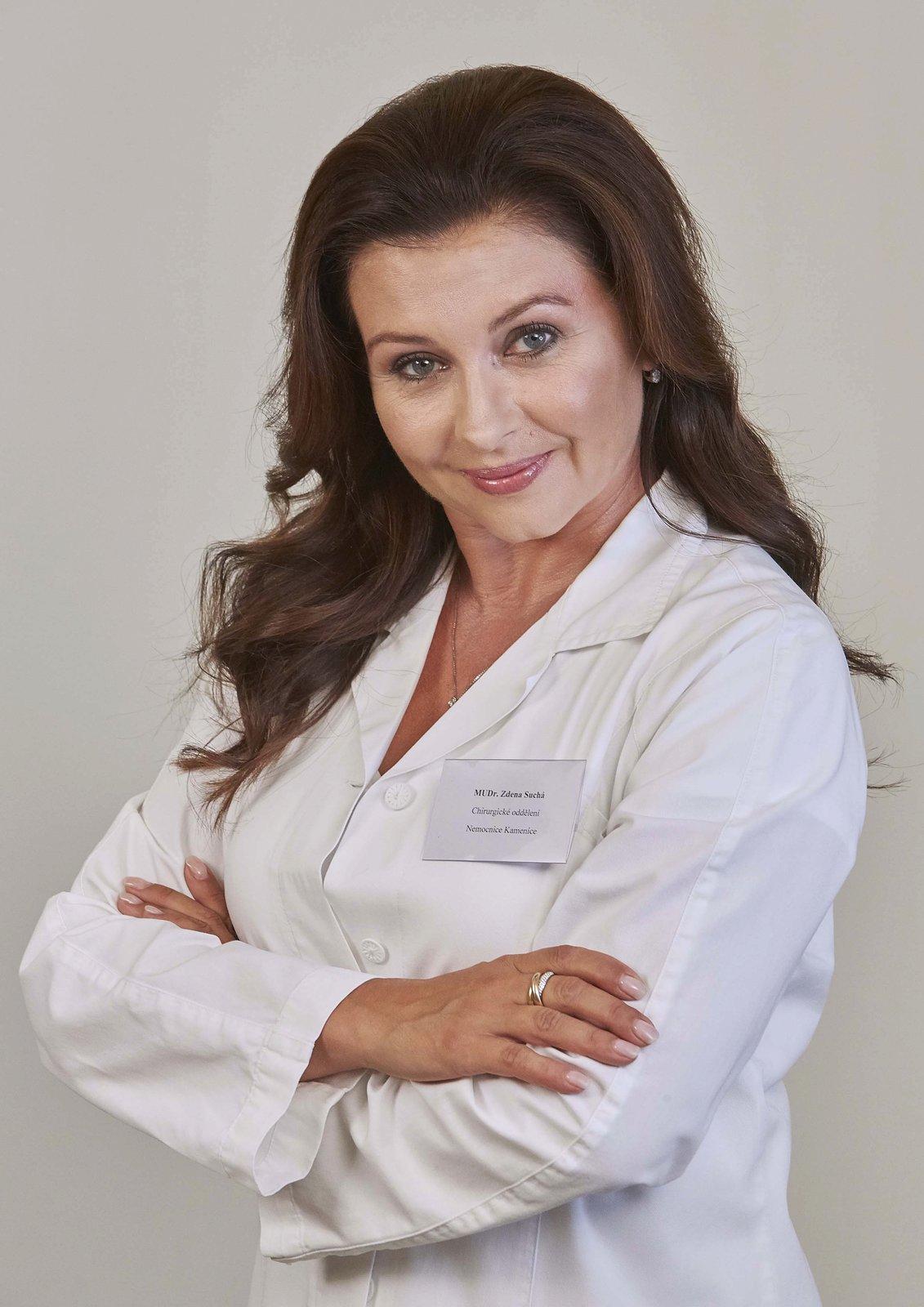 Dana jako Zdena Suchá