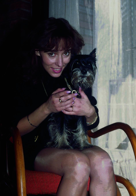 Heidi Janků s kníračem Falcem