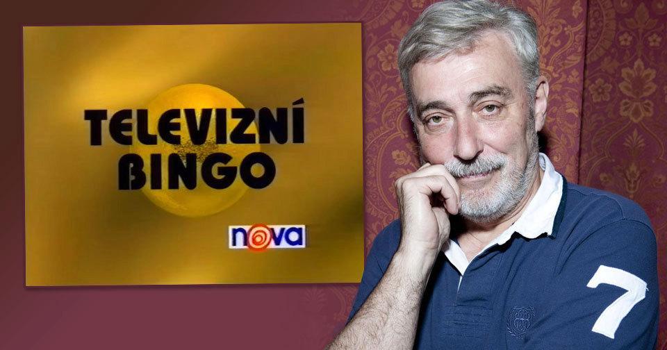 Jan Rosák moderoval televizní soutěž Bingo