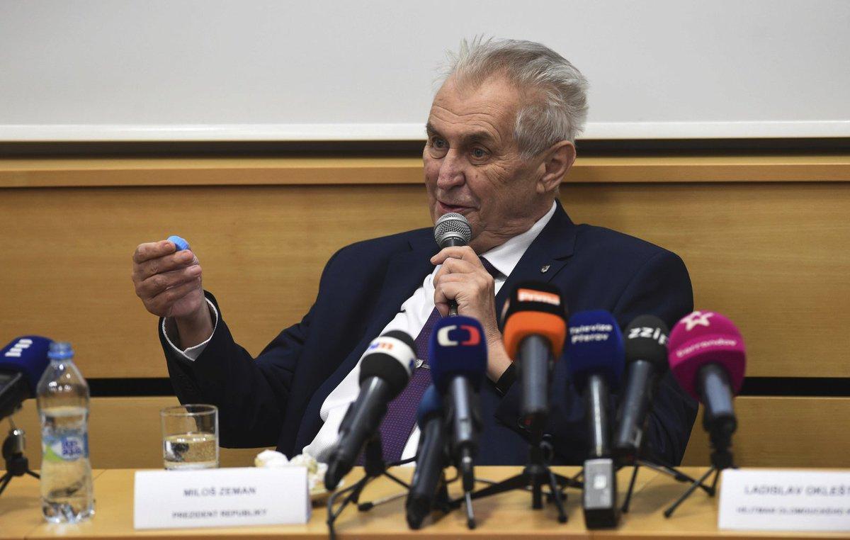 Miloš Zeman v Olomouckém kraji