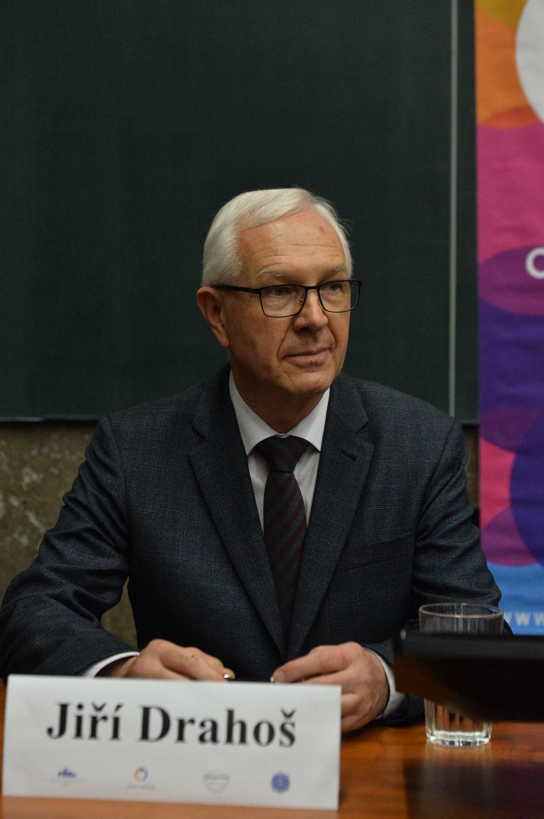 Debata prezidentských kandidátů na Právnické fakultě: Jiří Drahoš
