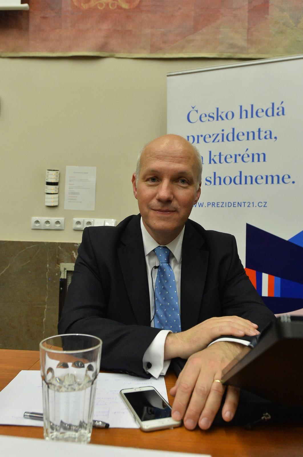 Debata prezidentských kandidátů na Právnické fakultě: Pavel Fischer