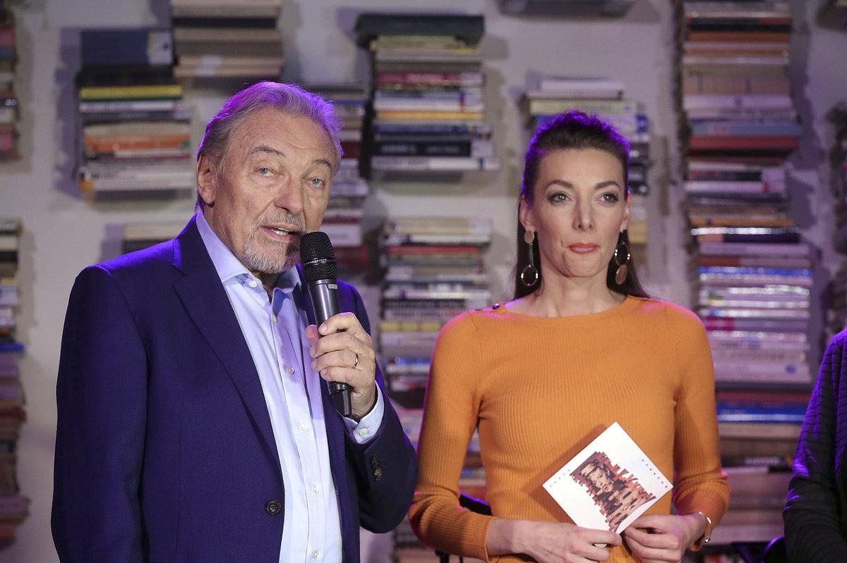 Karel Gott a zpěvačka Dasha