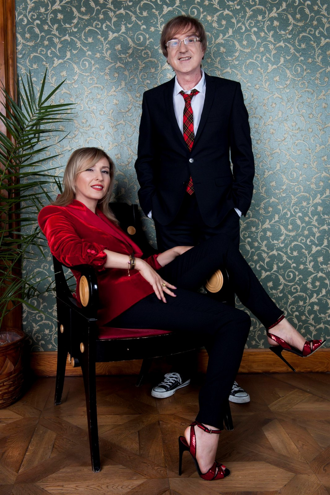Miro Žbirka s manželkou Kateřinou.
