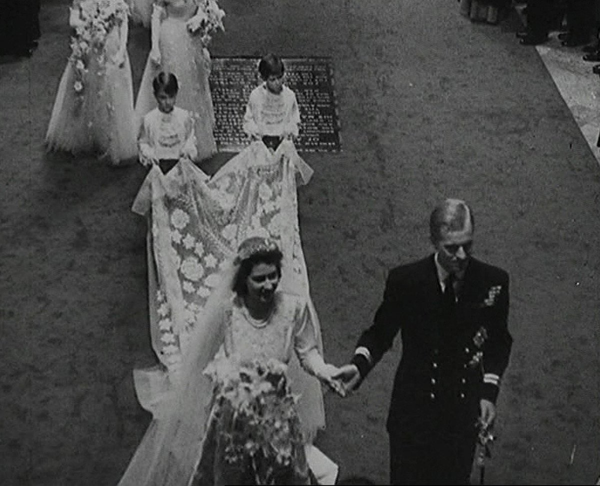 Královská svatba v roce 1947