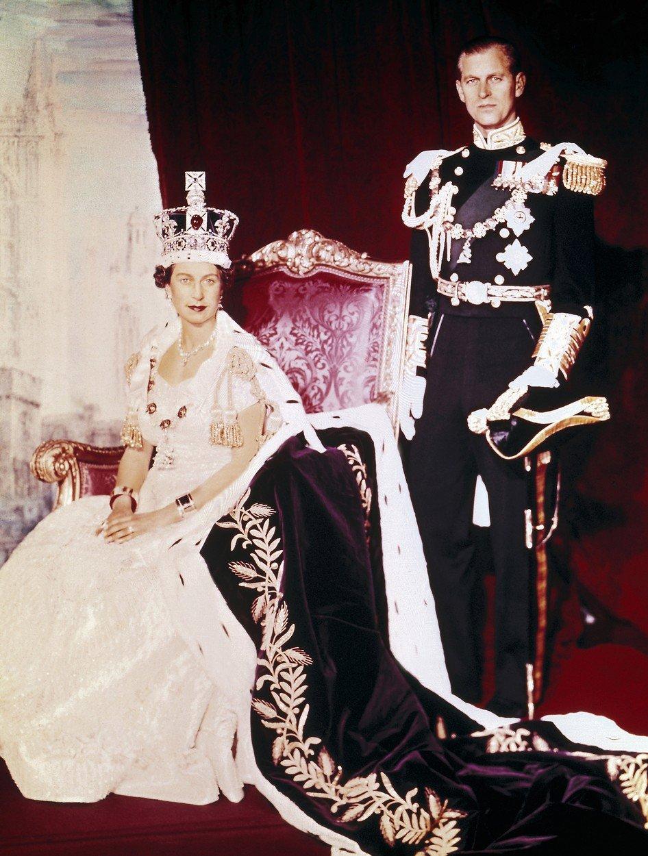 Oficiální fotografie královského páru