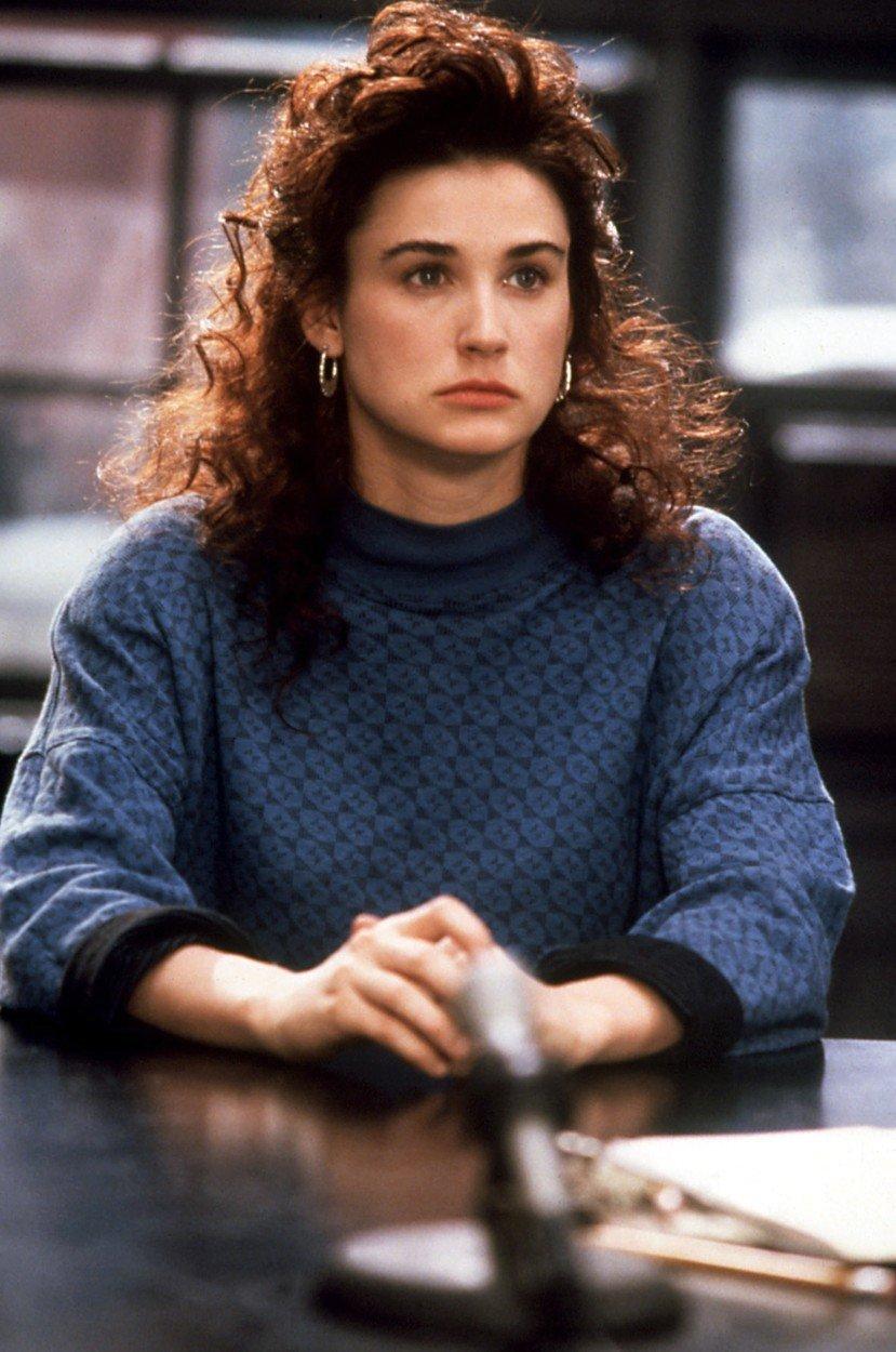 Demi Moore ve film Vražedné myšlenky (1991)
