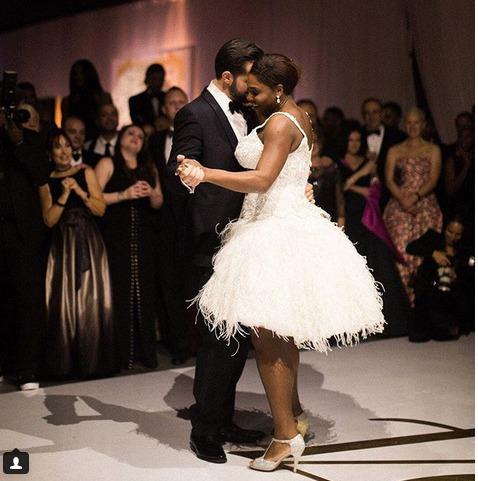Svatební tanec Sereny a Alexise Ohaniana