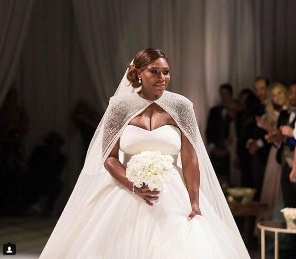 Serena Williamsová a její vysněné svatební šaty