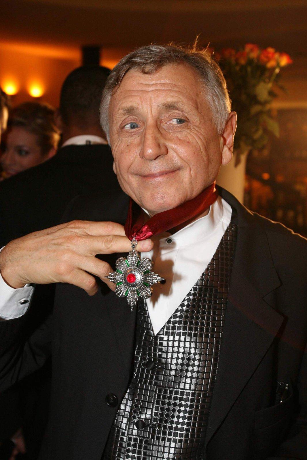 Jiří Menzel dostal medaili.