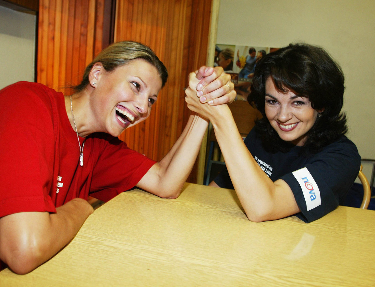 Jitka Kocurová a Jana Adámková